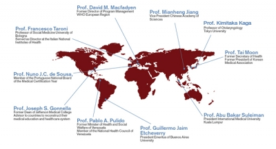 Global representation of advisory board